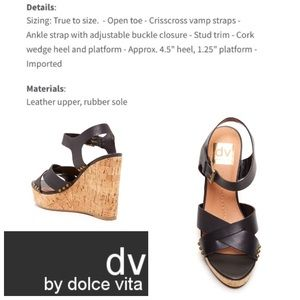 819723a7fe91 DV by Dolce Vita Shoes - DV by Dolce Vita Jex cork wedge sandals in black